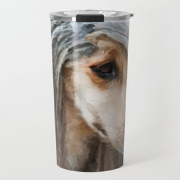 Afghan Hound Portrait Travel Mug