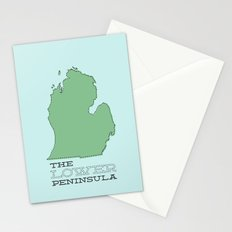 The Lower Peninsula Stationery Cards