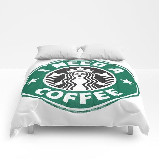 I need a coffee! Comforters