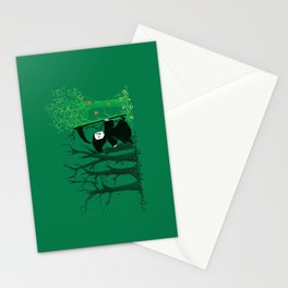 The hills WERE alive Stationery Cards