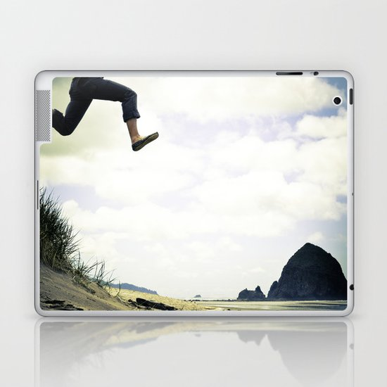 jump. Laptop & iPad Skin