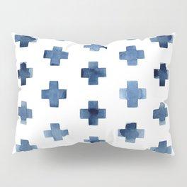 Crosses Scandinavian Pattern Pillow Sham