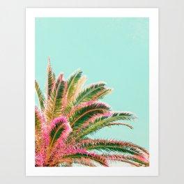 Fiesta palms Art Print
