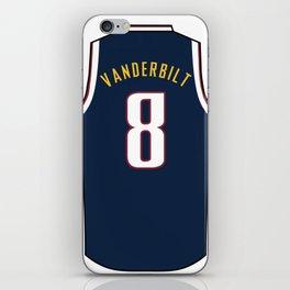 Jarred Vanderbilt Jersey iPhone Skin
