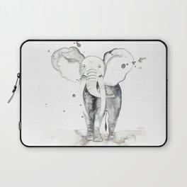 aquarela Elefante Laptop Sleeve