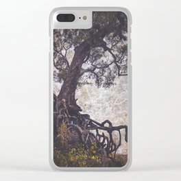 The Tangle Tree Clear iPhone Case