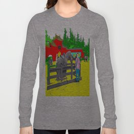 A Horse That Stays Long Sleeve T-shirt