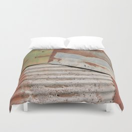 Rusty Old Things Duvet Cover