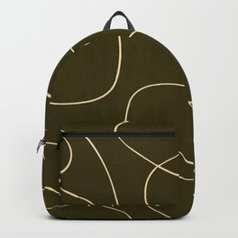 Mid century modern Abstract Backpack