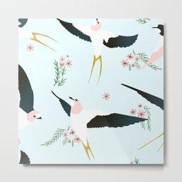Birds #society6 #decor #buyart Metal Print
