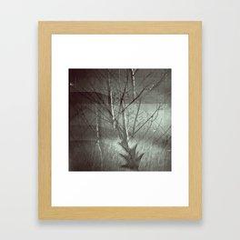 Faded Night Framed Art Print