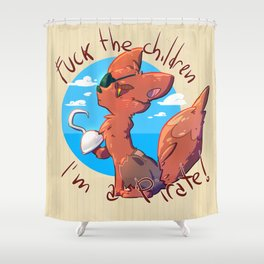 Foxy the pirate Shower Curtain