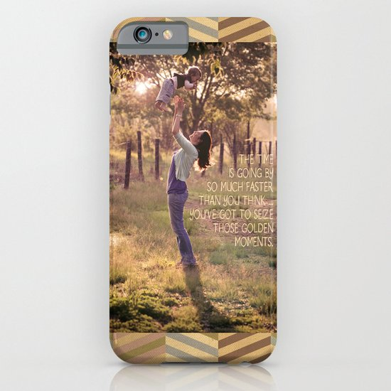 Seize those Golden Moments iPhone & iPod Case