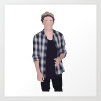 niall horan Art Prints featuring NIALL HORAN by Samantha Anderson