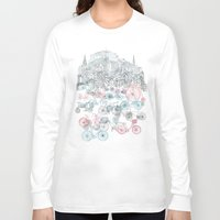 old Long Sleeve T-shirts featuring Old Town Bikes by David Fleck