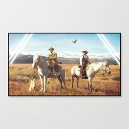 4 Hunters Canvas Print