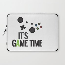 It's Game Time Laptop Sleeve