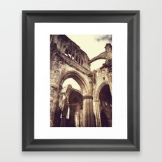 Melrose Abbey Framed Art Print