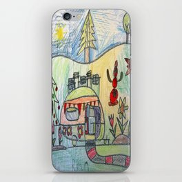 Christmas Camper iPhone Skin