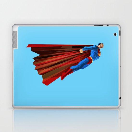 Man Up (blue steel variant) Laptop & iPad Skin