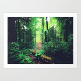 Lacanian Forest Art Print