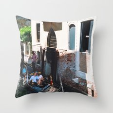 To Venice with Love Throw Pillow