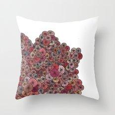 Pink Pinwheels Throw Pillow