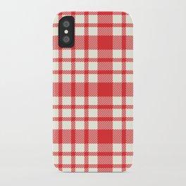 Landon Plaid iPhone Case