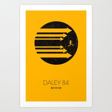 Daley 84 Art Print