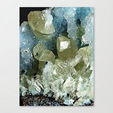 chrysocolla & calcite Canvas Print