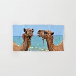 Beach camels Hand & Bath Towel