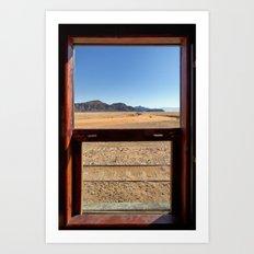 Desert Trip Art Print