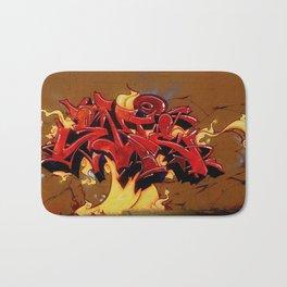 Fire Wildstyle Bath Mat