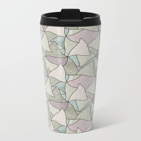 Abstract pattern. Metal Travel Mug