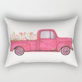Wild as the flower-watercolor Rectangular Pillow