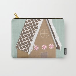 Gingerbread House Carry-All Pouch