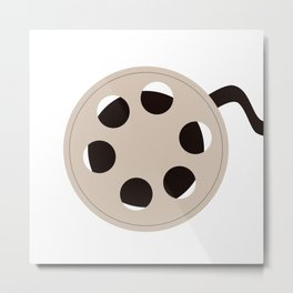 Film Roll Metal Print