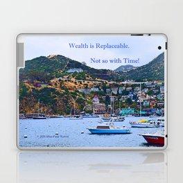 """Catalina Harbor""/ ""Time"" Laptop & iPad Skin"