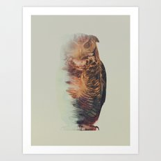 Norwegian Woods: The Owl Art Print