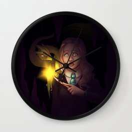 Dragon Wizard Wall Clock