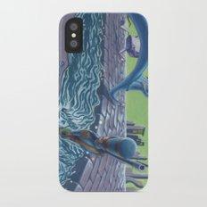 POEM OF FLOOD iPhone X Slim Case