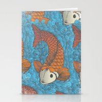 koi Stationery Cards featuring KOI by Matthew Taylor Wilson
