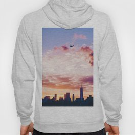 Sunset over the Cityscape (Color) Hoody