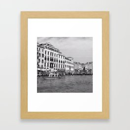 Go with the flow 3 Framed Art Print