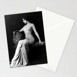 Ziegfeld Follies Girl Stationery Cards
