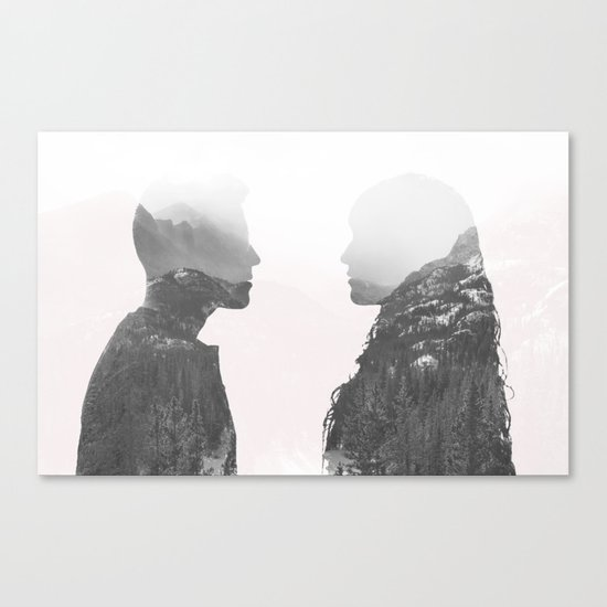 One in the Same Canvas Print