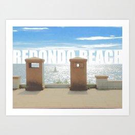 Redondo Beach Art Print