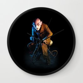 Nosferatu On A Tricycle Wall Clock