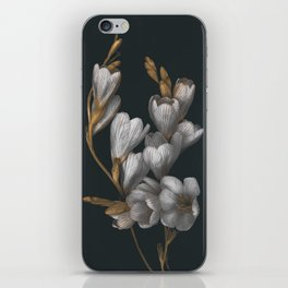 Night Flowers iPhone Skin