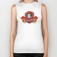 the wire Biker Tanks featuring Barb wire by Tshirt-Factory